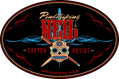 Pinstriping Neil