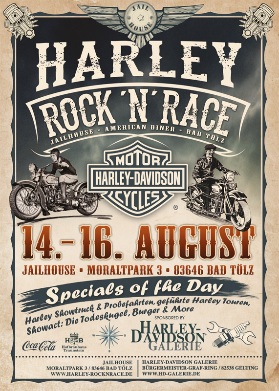 Harley Rock 'n' Race 2015